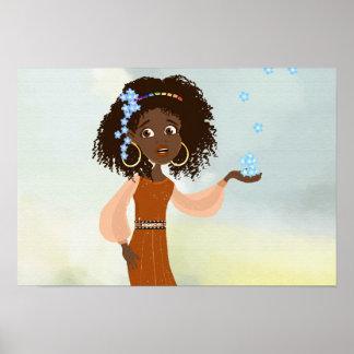 Princesse africaine Doli Poster