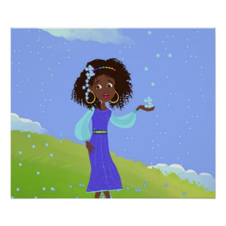 Princesse africaine Poster
