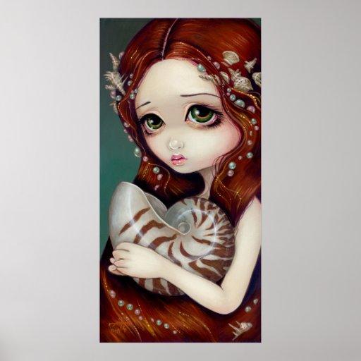Princesse Art Print de Nautilus Affiches