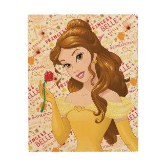 Princesse Belle Impressions Sur Bois