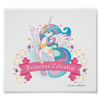 Princesse Celestia Banner Poster