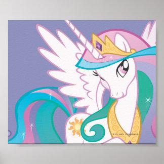 Princesse Celestia Poster