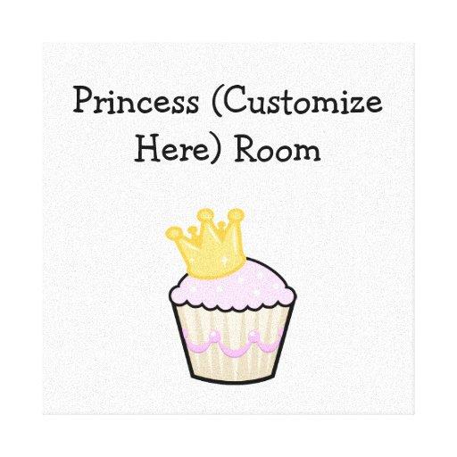 Princesse Cupcake Toiles Tendues