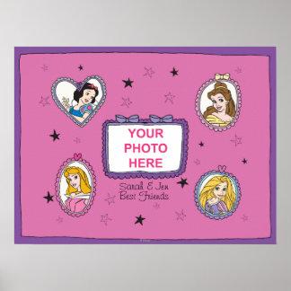 Princesse Customizable Poster de Disney