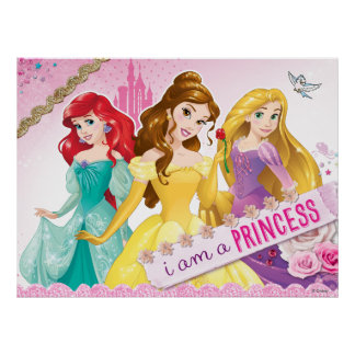 Princesse de Disney | Ariel, belle et Rapunzel