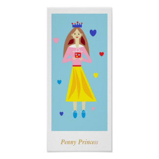 Princesse de penny poster