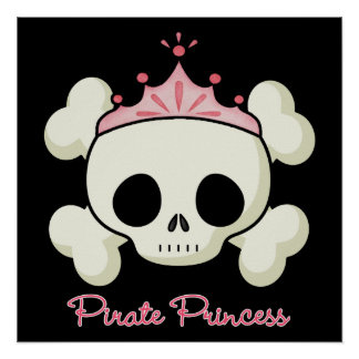 Princesse de pirate posters