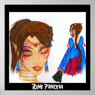 Princesse de Rune Affiche