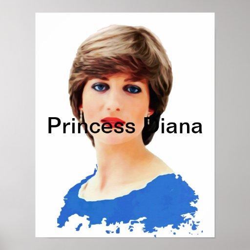 Princesse Diana Affiche