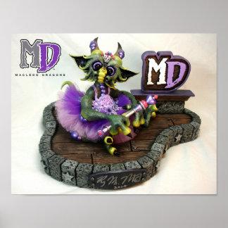 """Princesse Dragon de DM 11"""""""" mini affiche x14"""