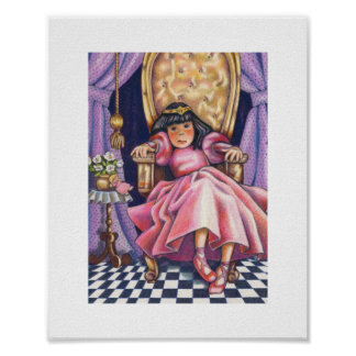 Princesse ennuyée poster