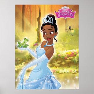 Princesse et la grenouille poster