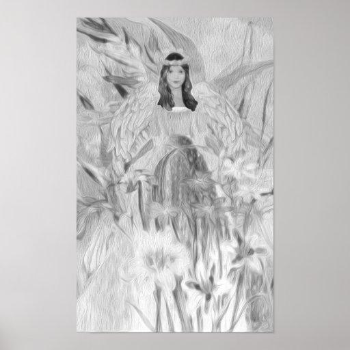 Princesse féerique Angel Affiches