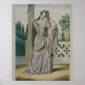 Princesse Hélène, gravée par les frères de Thierry Poster