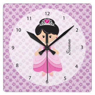 Princesse Horloge Carrée