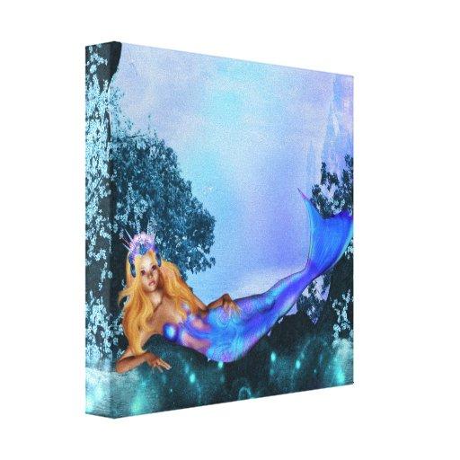 Princesse Mermaid Toile Tendue