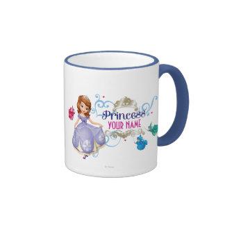 Princesse personnalisée mug ringer