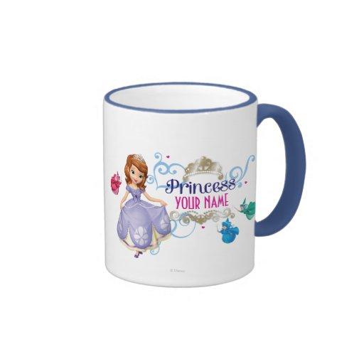 Princesse personnalisée tasse à café