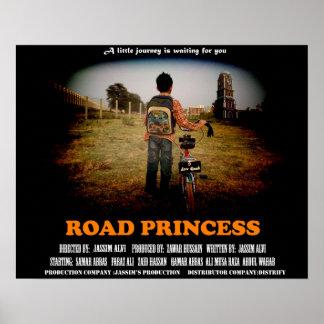 Princesse Poster de route
