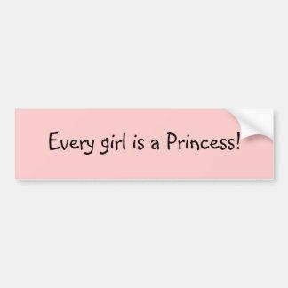 Princesse Power ! Autocollant De Voiture