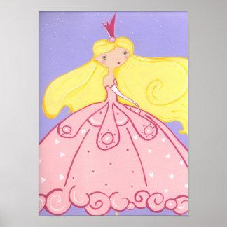 Princesse Print Poster