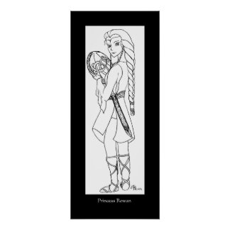 Princesse Rowan Affiche