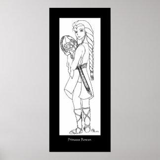 Princesse Rowan Poster