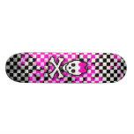 Princesse Skull Girls Skateboard