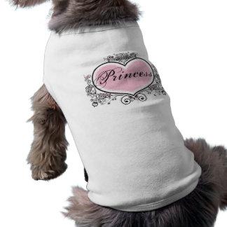 Princesse T-shirts Pour Animaux Domestiques