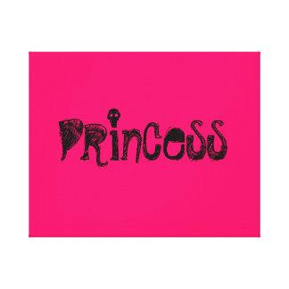 Princesse Impressions Sur Toile
