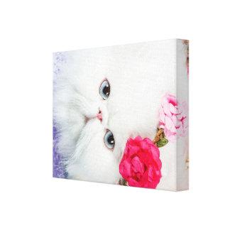 Princesse Winnie avec le portrait de roses Toile