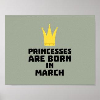 Princesses are born in MARCH Z1szr Poster