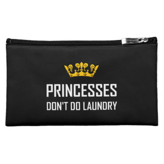 Princesses Do Not Do Laundry Makeup Bag