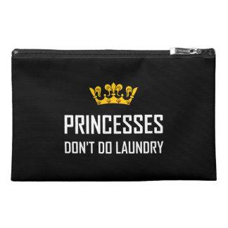 Princesses Do Not Do Laundry Travel Accessory Bag