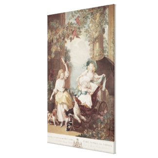 Princesses Mary, Sophia et Amelia Toile Tendue