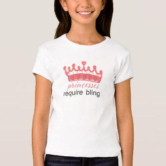 Princesses require bling Tshirt