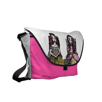 Princesses Rule Messenger Bag