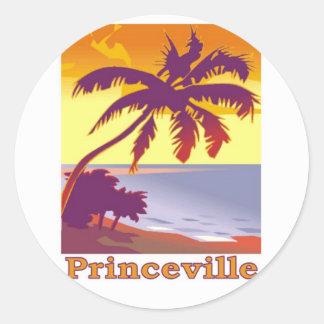 Princeville, Hawaii Classic Round Sticker