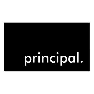 principal business card templates