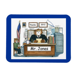 Principal Magnet, Personalized with a Name Magnet