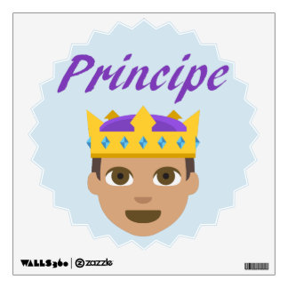 Principe (Prince) Wall Art Wall Decal
