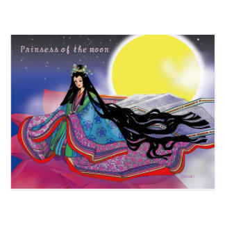 Prinsess of the moon postcard