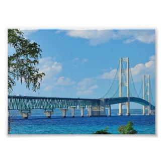 Print Mackinac Bridge