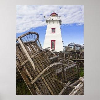 Print - North Rustico Light, PEI, Canada