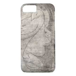 Print of to girl iPhone 8/7 case