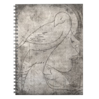Print of to girl notebook
