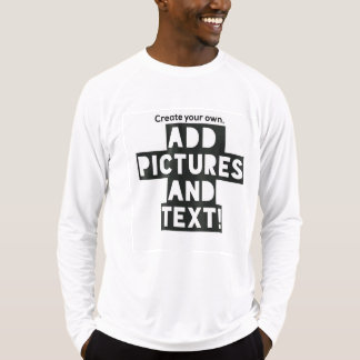 Print on a Long Sleeve Tee - Add images and text!