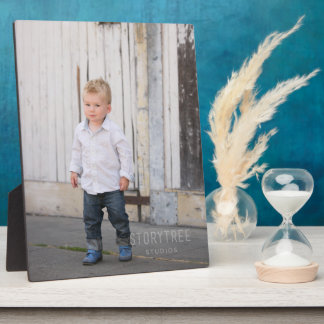 Print on a PHOTO PLAQUE with stand