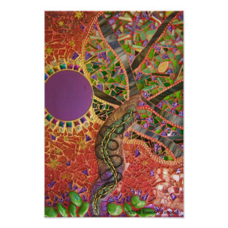 Print Poster of The We See Tree by Susan Crocenzi