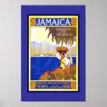 Print Retro Vintage Image Travel Jamaica Print